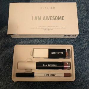 RealHer I am awesome lip kit. BNIB.